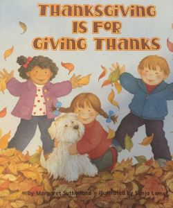 Thanksgiving is for giving thanks cover